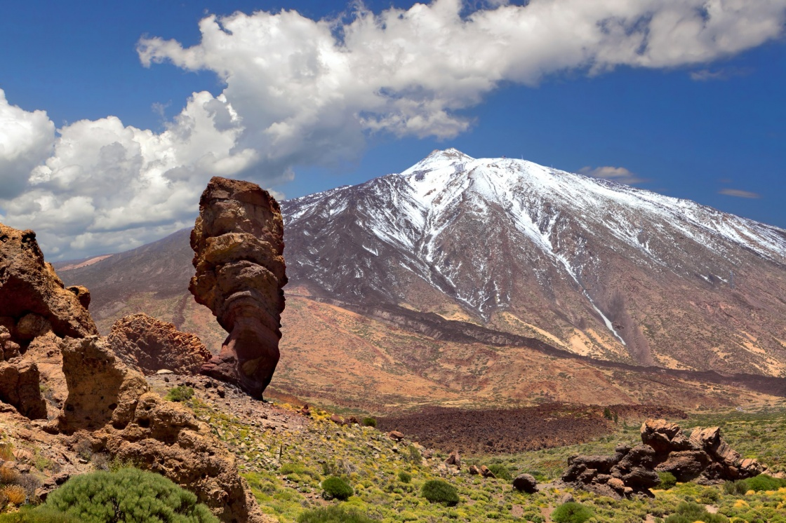'Pico del Teide, Tenerife, Spain's highest mountain' - Teneriffa